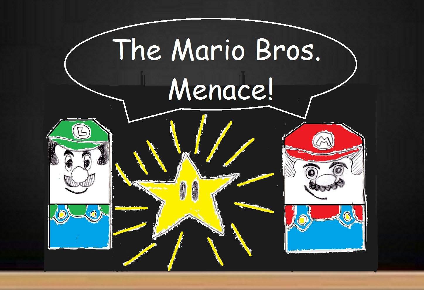 The Mario Bros Menace Between The Folds
