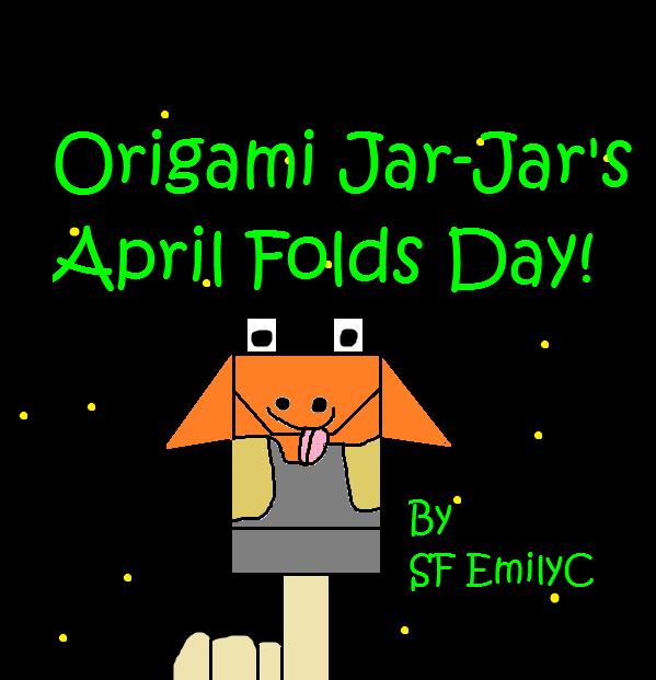 Origami Jar-Jar pic