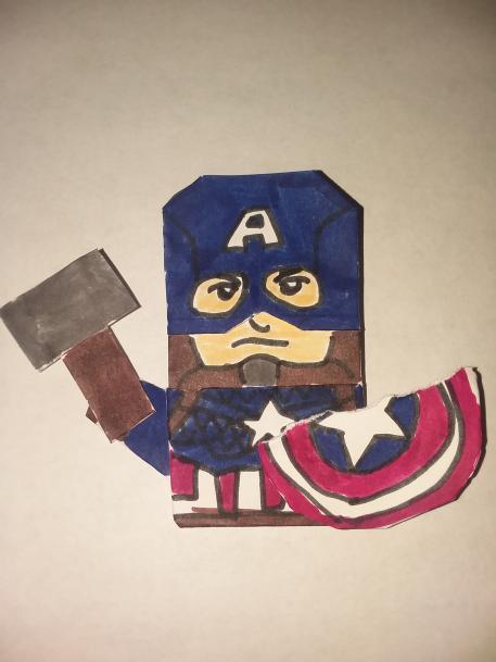 Noah's Captain Americut