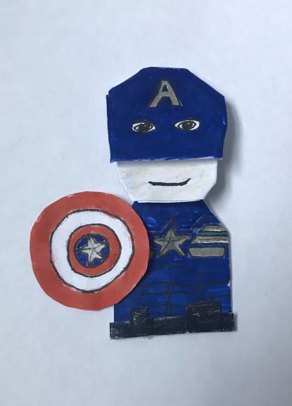 Cam's Captain Americut